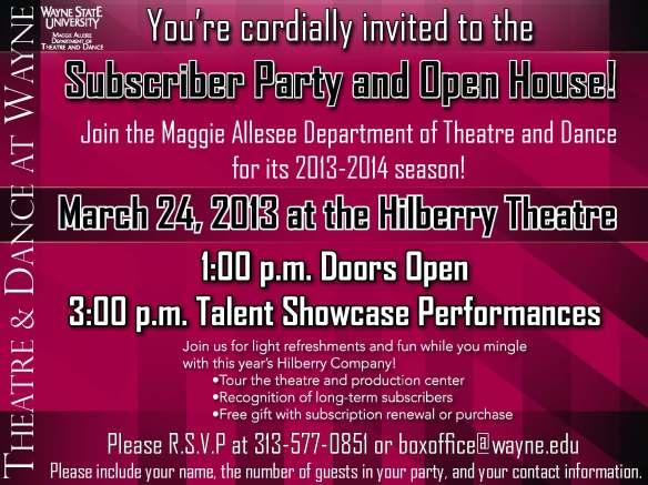 Sub Party Invite