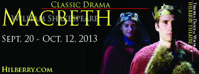 Macbeth - calendar 400x150